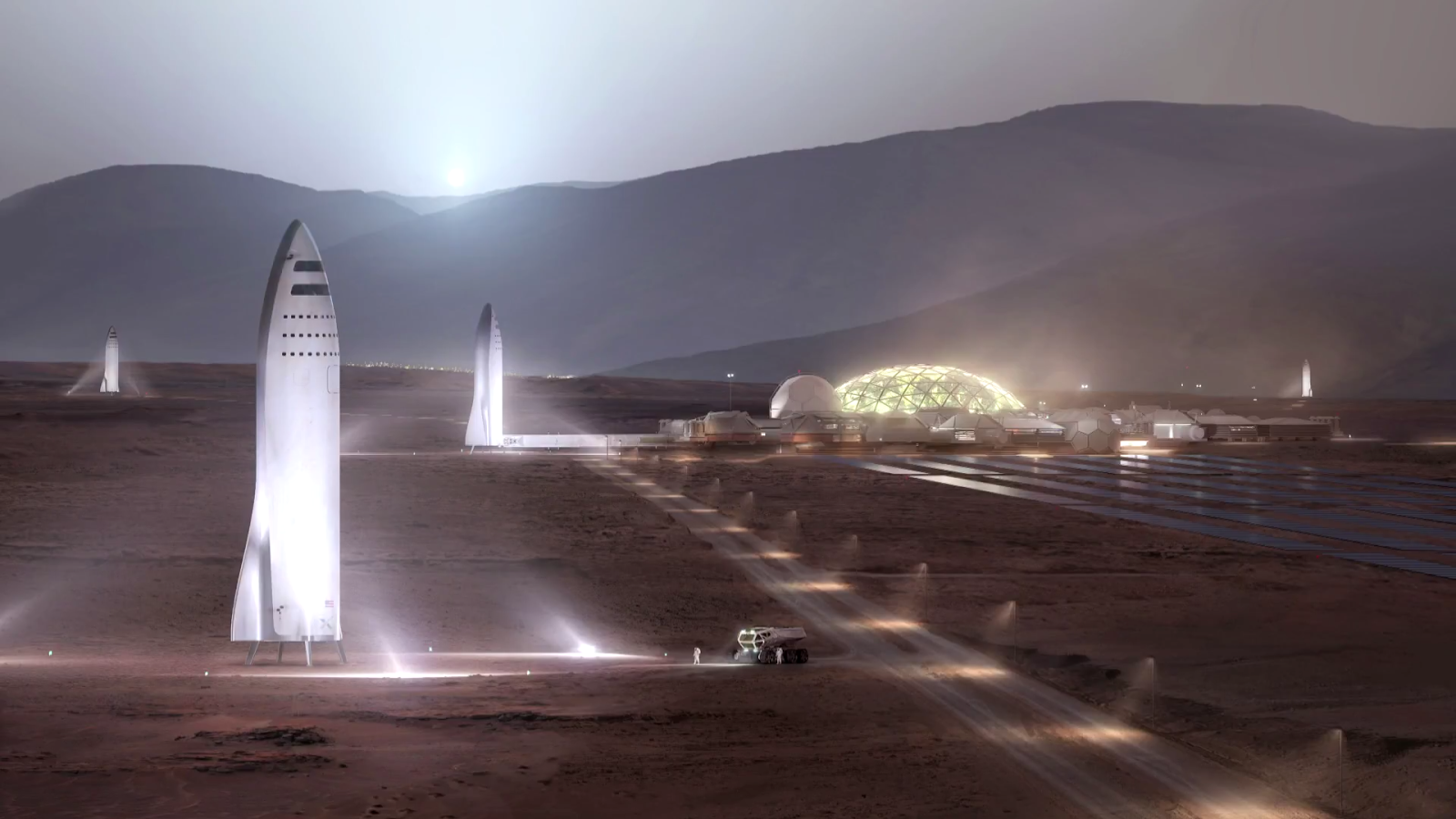 SpaceX Mars City