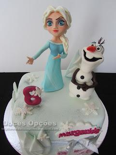 bolo frozen disney doces opções bragança