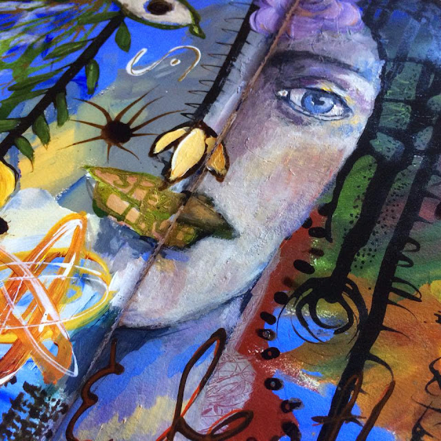 Spectrum mixed media art journaling workshop