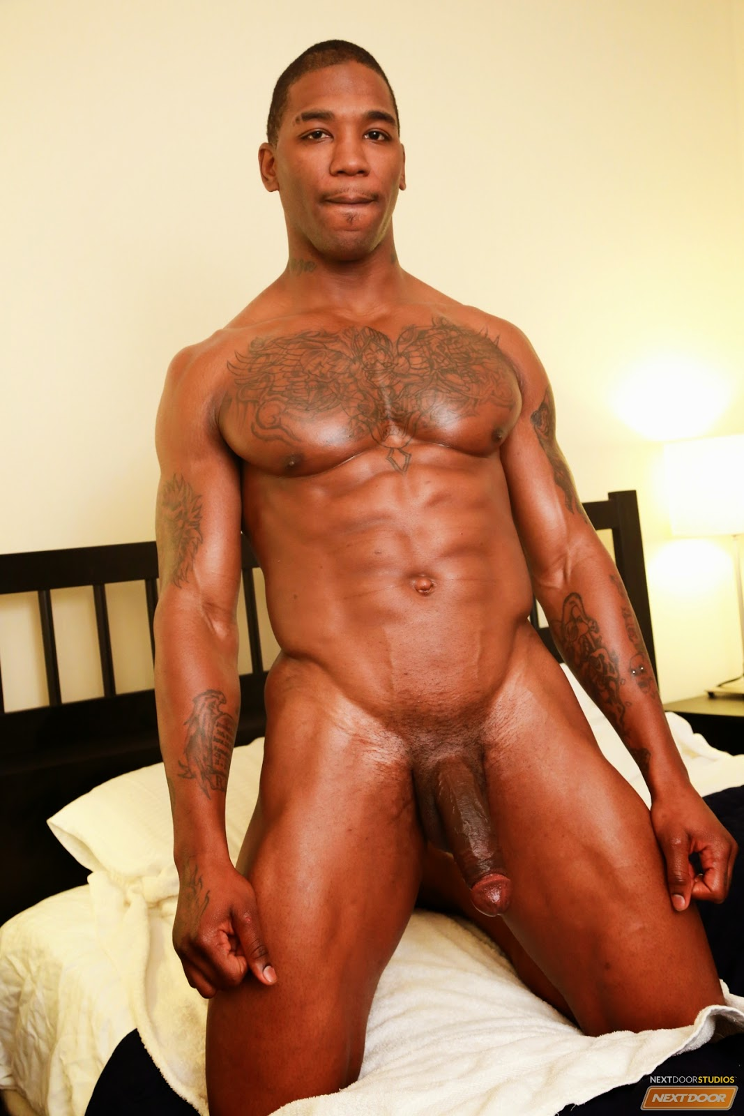 Big Black Men Nude