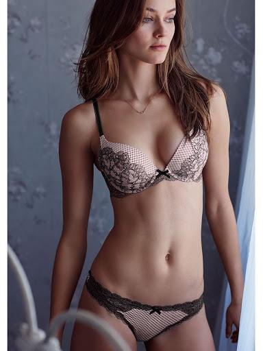 Monika Jagaciak Victoria's Secret Lingerie Models Photo shoot