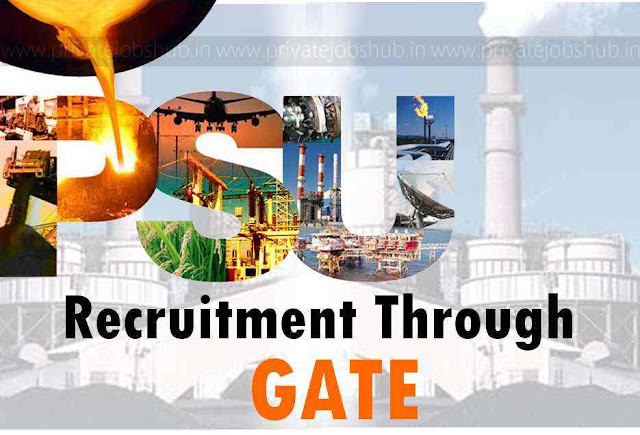 PSU Recruitment through GATE