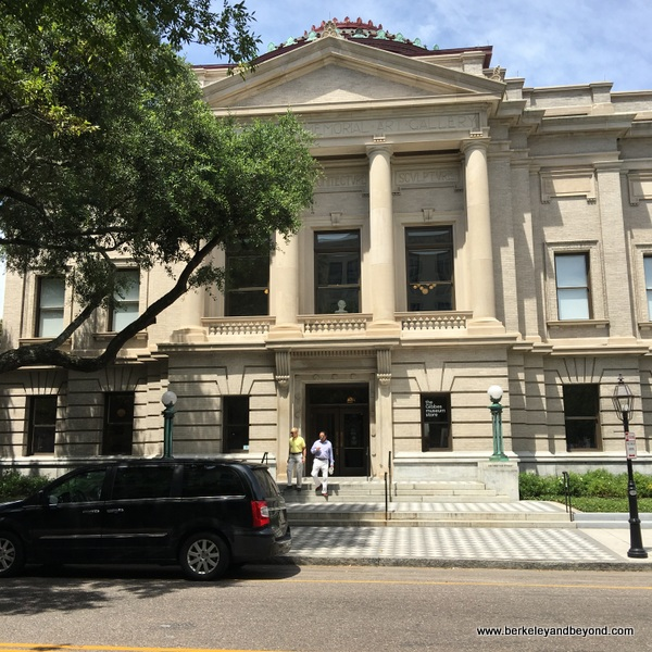 exterior of The Gibbes Museum of Art in Charleston, South Carolina