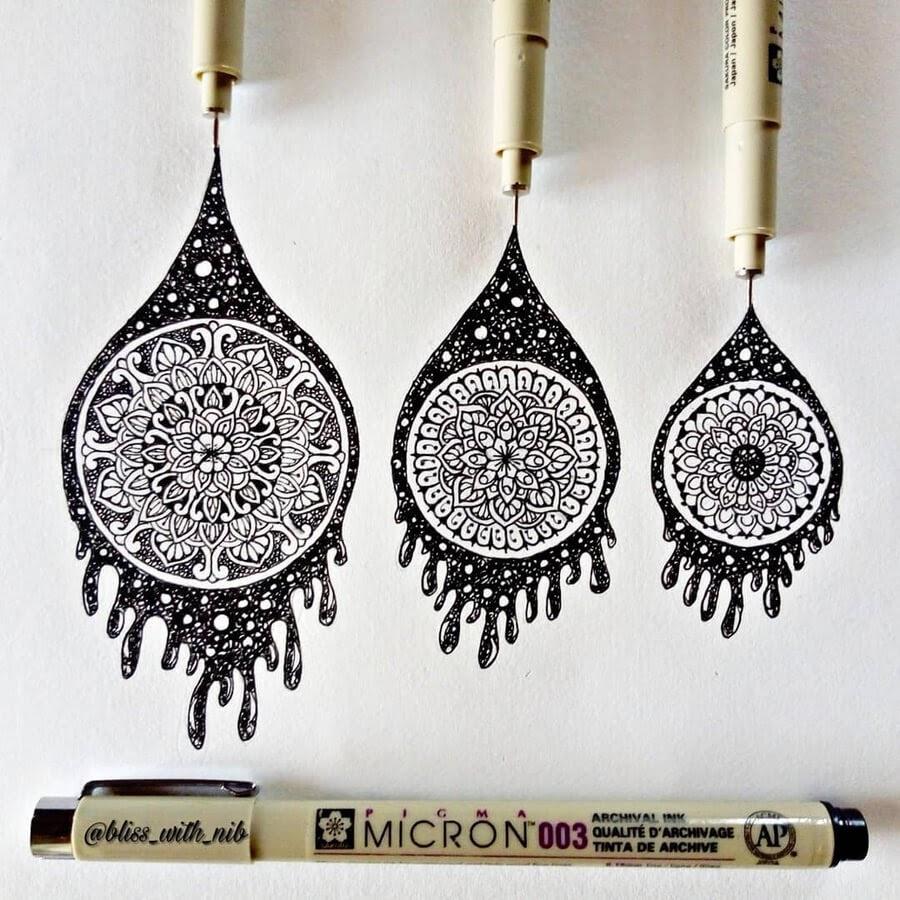 10-Ink-Drips-Mandala-S-V-Apnar-www-designstack-co