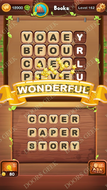 Word Bright Level 162 Answers, Cheats, Solutions, Walkthrough for android, iphone, ipad and ipod