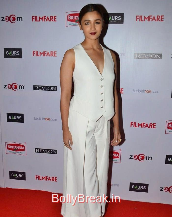 Alia Bhatt, 60th Britannia Filmfare Awards pre-awards Party 2015 Red Carpet Pics