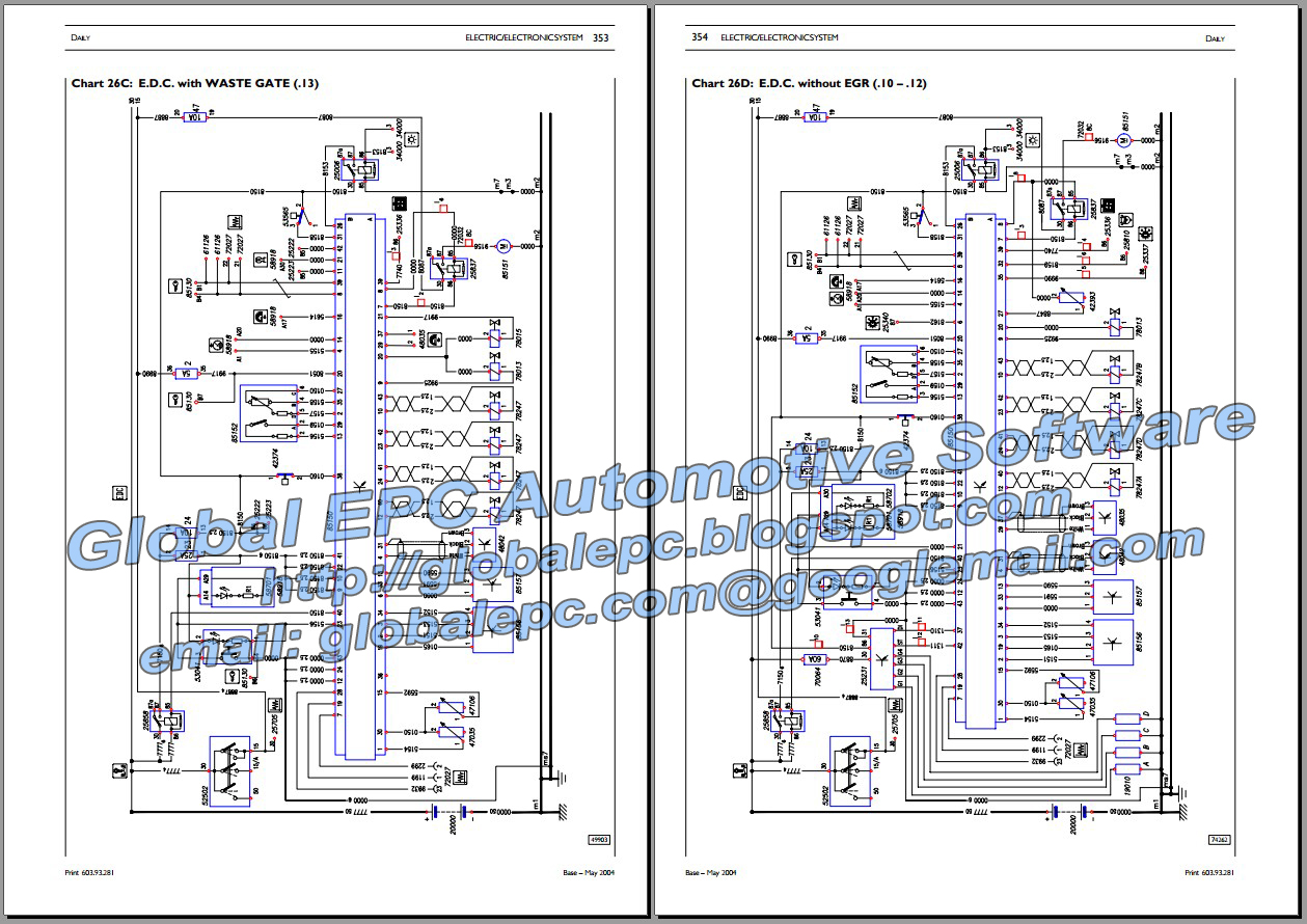Iveco engine fuel system diagrams electrical
