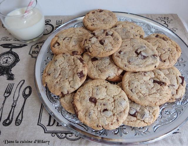 Cookies aux éclats de chocolat noir de Pierre Hermé