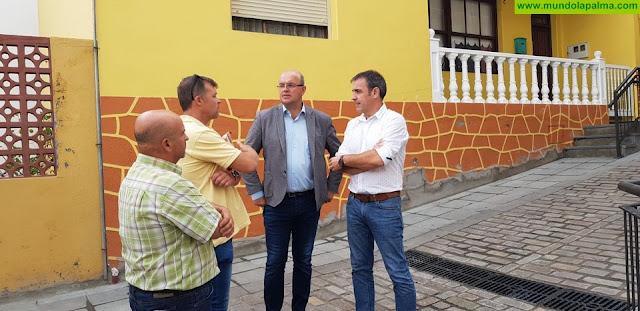 Concluyen las obras de urbanización de la calle El Topo de San Andrés y Sauces