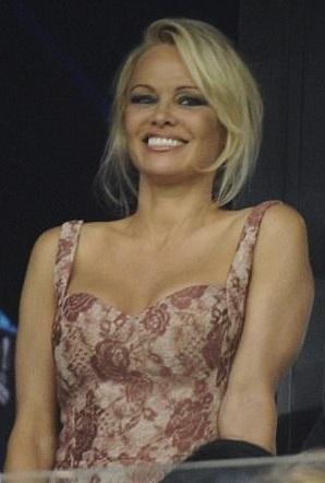 Pamela Anderson August 2017