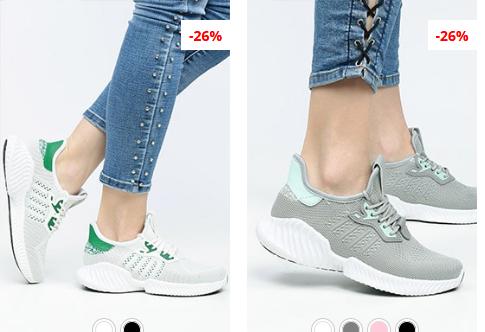 Pantofi sport dama gri, Albi moderni ieftini