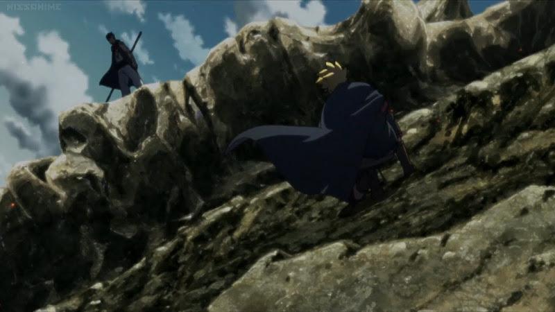 Boruto melawan Kawaki