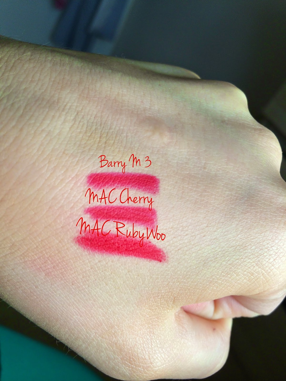 my fashion & beauty blog: MAC Cherry, Nightmoth, Currant ...