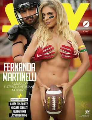 Download Sexy: Fernanda Martinelli Julho 2017