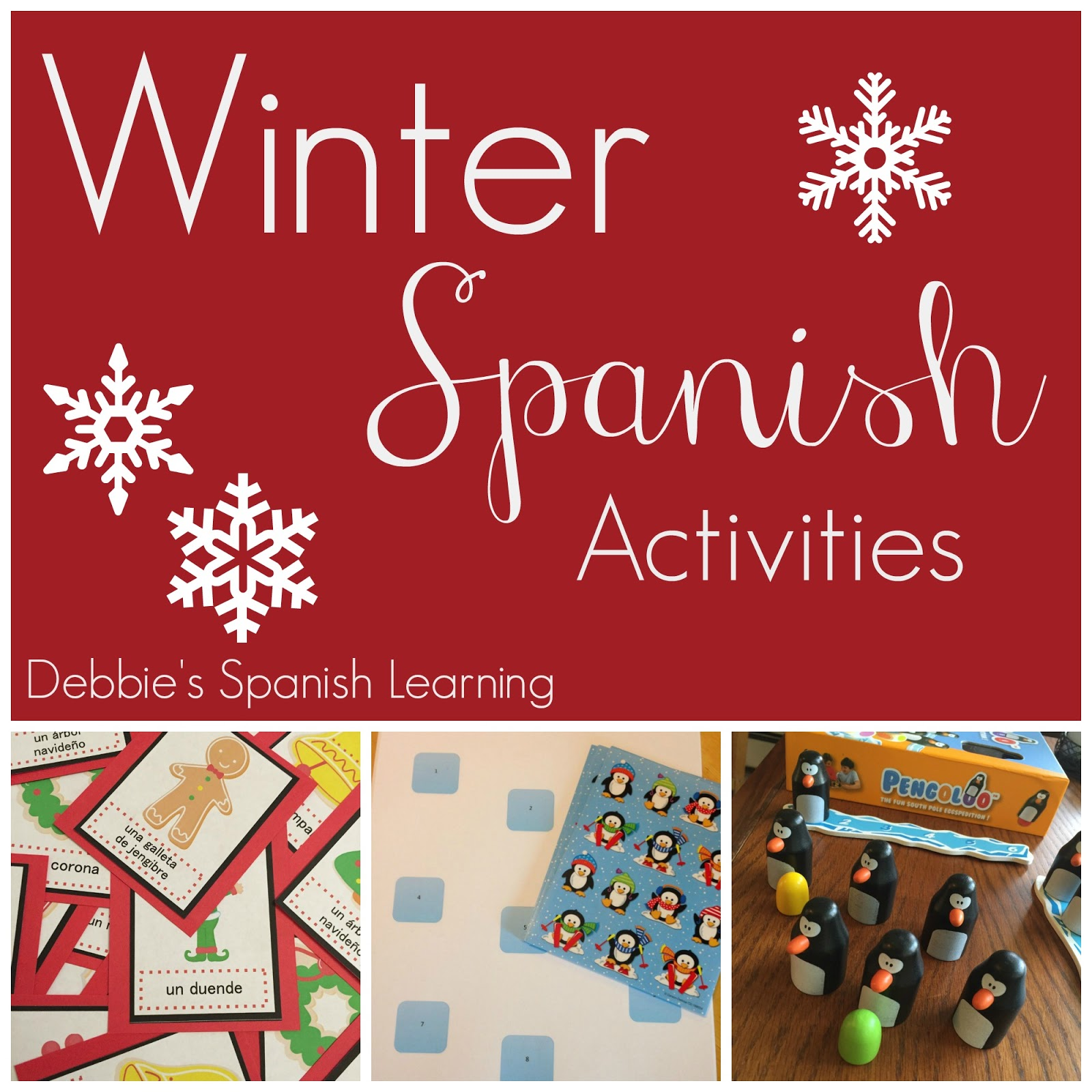 Debbie S Spanish Learning All Things Winter For Spanish