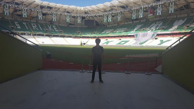 Harun İstenci Konya Stadyumunda