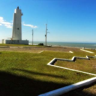 O Farol no Morro do Farol, em Torres
