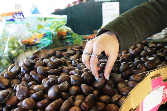 Toronto Kensington Market, Markets in Toronto, Chestnuts, Selftimers Blog