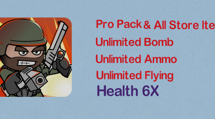 Mini Militia Unlimited Nitro Ammo Bomb Health 6x Crazy