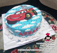 Kue Tart Buttercream Cars Mcqueen