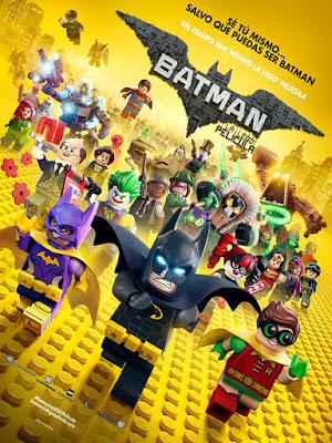 Cartel oficial español: Batman: La LEGO película (2017)