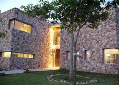 stone style house 07