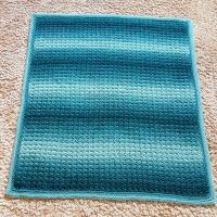 Ombre Baby Blanket Free Crochet Pattern