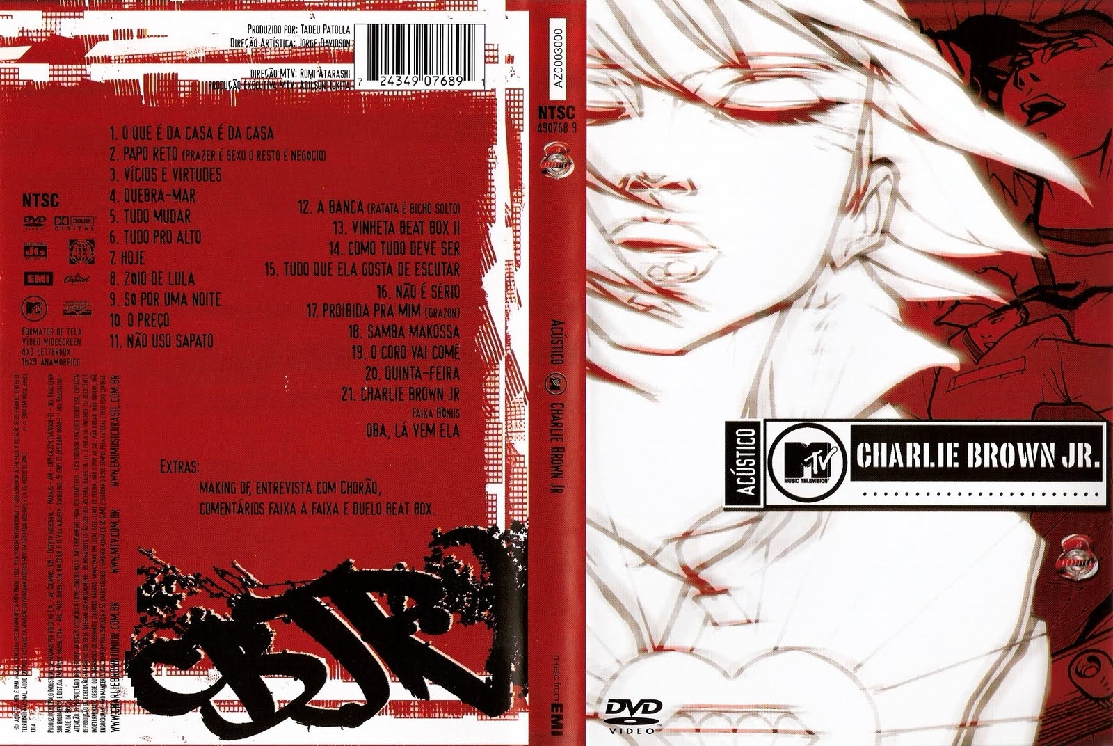CD CHARLIE BAIXAR RITMO DO RESPONSA RITUAL JR BROWN E