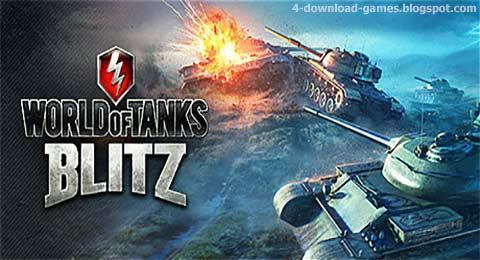 لعبة عالم الدبابات الغارة الحربية World of Tanks Blitz اون لاين