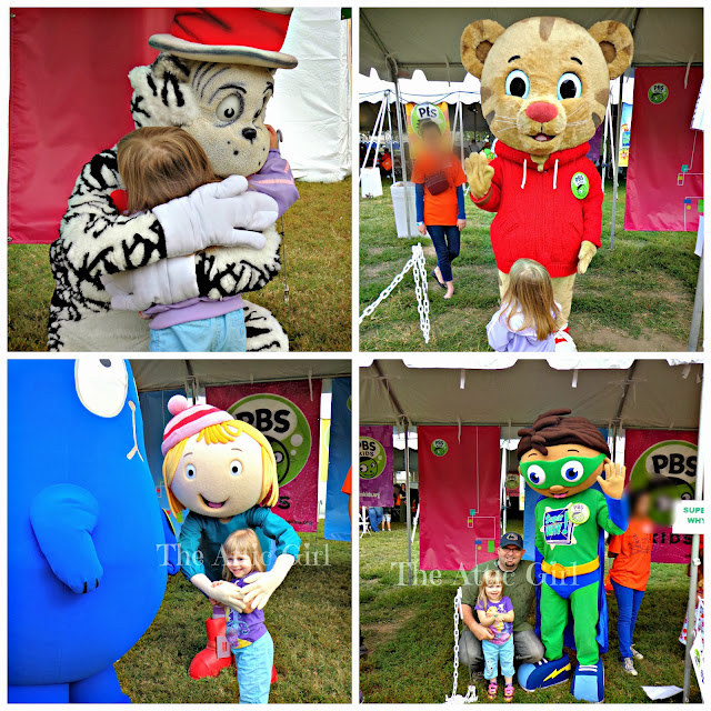 Library of Congress, PBS Kids, Washington, DC, #NatBookFest, book festivals, DC, Daniel Tiger, The Cat in the Hat