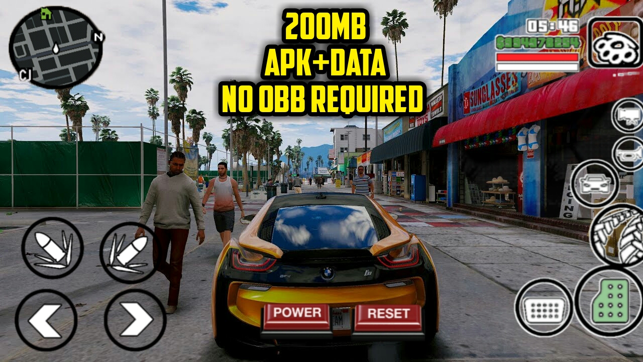 200MB] GTA SA ULTRA 4K GRAPHICS MODPACK|APK+DATA NO OBB