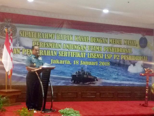 TNI AL Jalin Sinergitas dengan Insan Pers