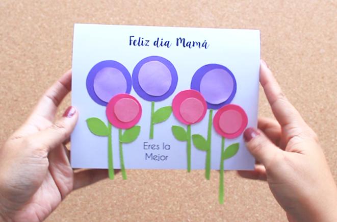 Tarjeta Para Mama Dia De La Madre Party Pop