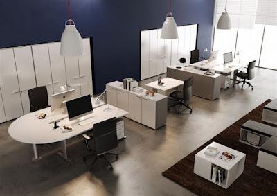 Thiết kế nội thất văn phòng làm viêc nhân viên đẹp và chuyên nghiệp