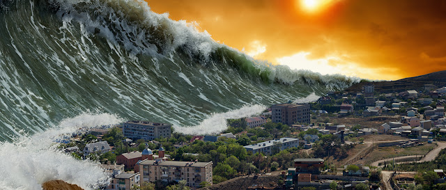 Media Rusia Sebut akan Ada Mega Tsunami Buatan Manusia
