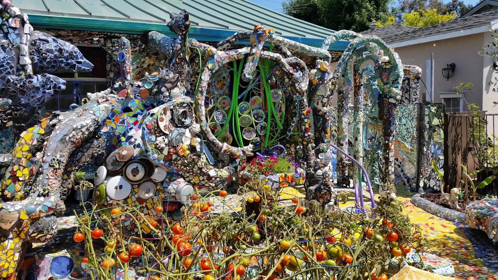 eclectitude: mosaic tile house - venice, ca