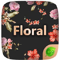 حول الكيبورد الى لوحة فنية مع تطبيق Floral GO Keyboard Theme Emoji