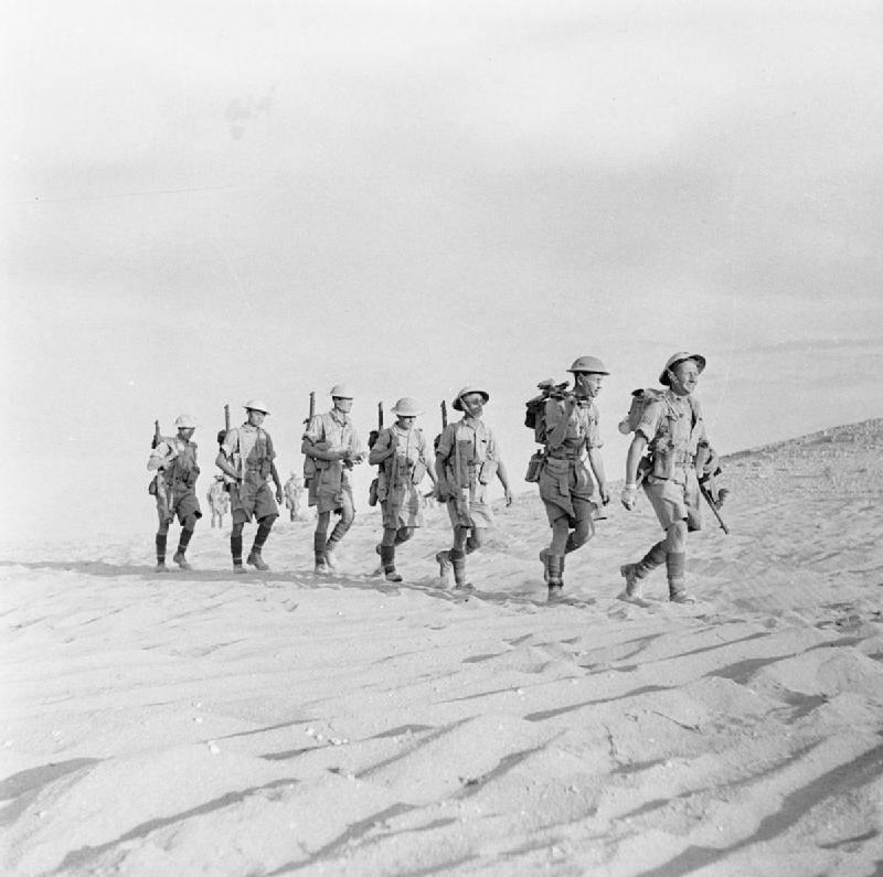 Câu chuyện được xem là rùng rợn trong chiến dịch Bắc Phi của binh lính Anh