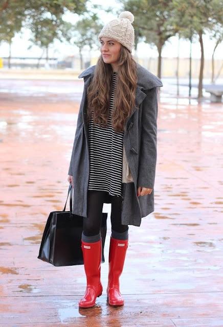 botas para lluvia con casquillo