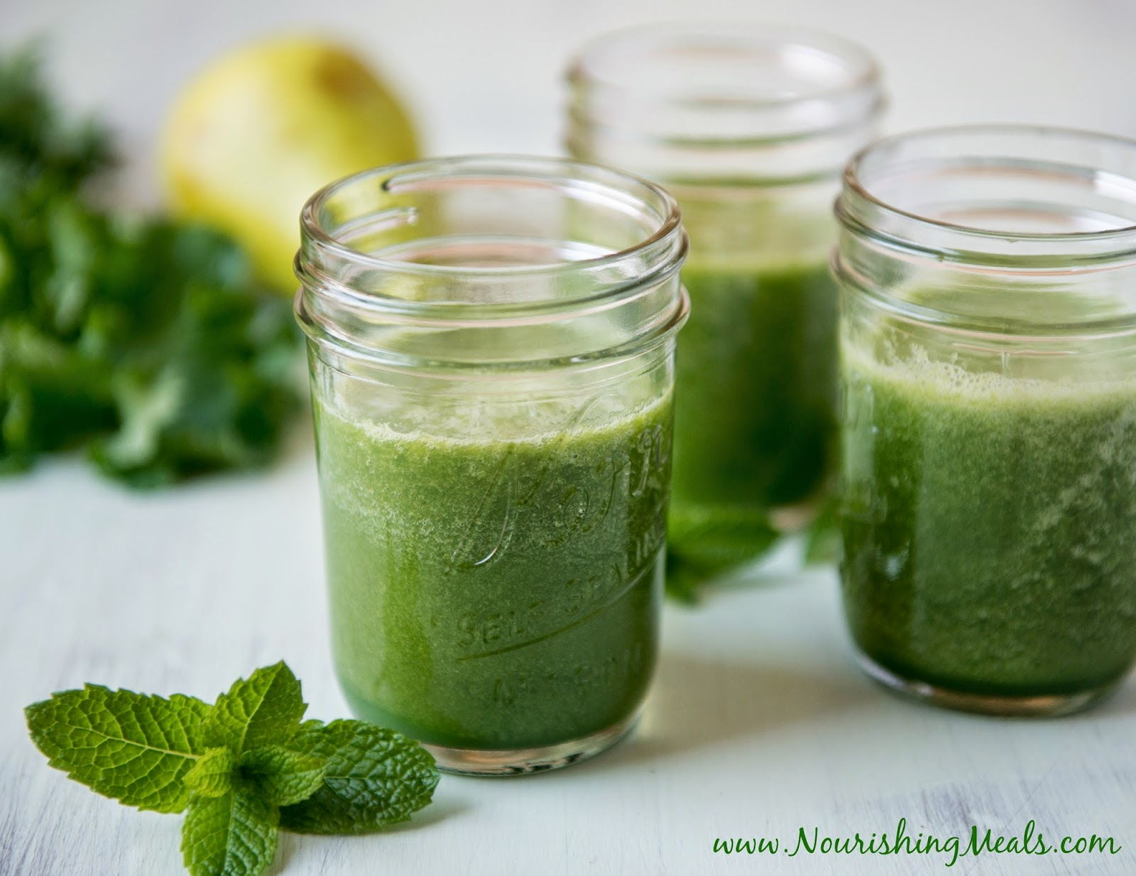 Nourishing Meals®: Green Smoothie Recipe for Babies and Toddlers