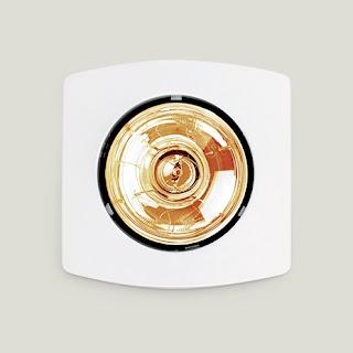 đèn sưởi âm trần phòng tắm mùa đông