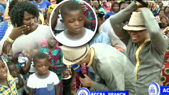 Meet The 7-Year-Old Ghanaian Womanizer Boy At Bishop Obinim's Church