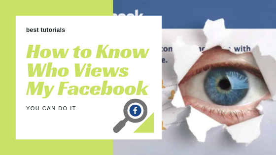 How To Check Who Is Viewing My Facebook Page<br/>