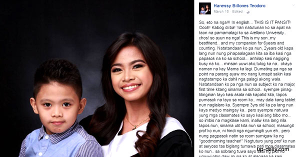 Young Mom Shares How She Juggles Education And Motherhood, Making Her Instant Internet Sensation