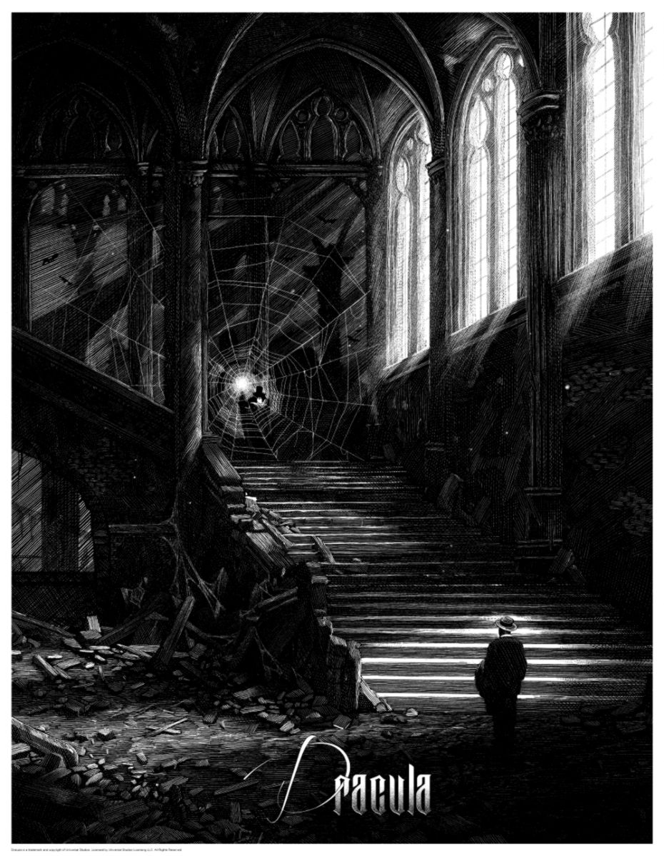 Stunning Horror Art Series for the Universal Classic Monsters