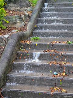 stair waterfall