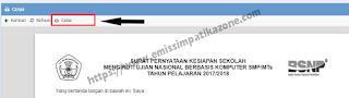 Cara Cetak dan Upload Surat Kesiapan UNBK di Web ubk.kemdikbud.go.id