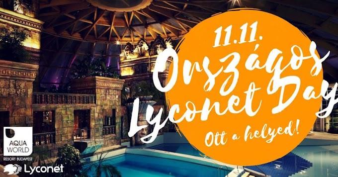 Országos Lyconet Day - 2018.Nov.11. - Ott a helyed!