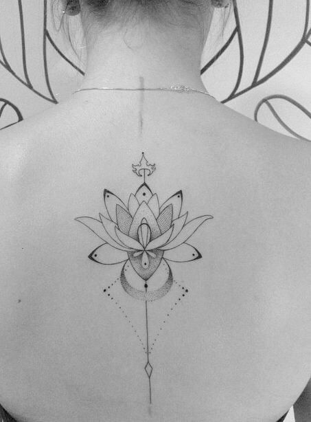 30 Stunning Lotus Flower Tattoo Designs & Meanings