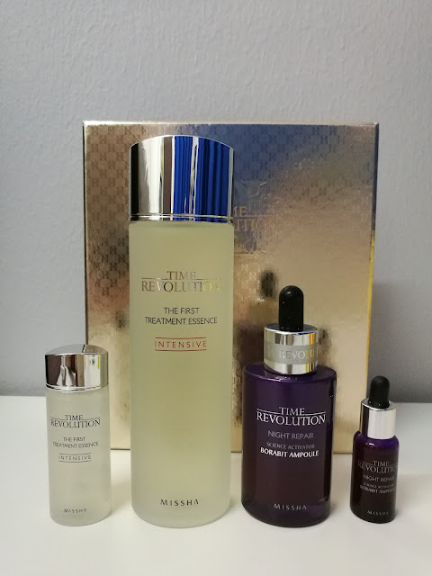 Missha Time Revolution Best Seller The First Treatment Essence with Night Repair Ampoule